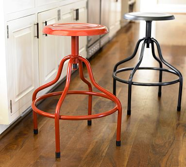 pottery barn stools