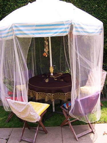 Creative outdoor umbrella idea